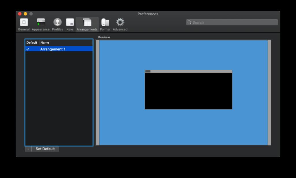 如何保存 iTerm2 默认窗口大小